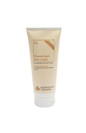 Crema basic viso-corpo per pelli sensibili