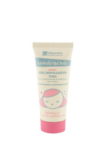 Wonderscrub Gel esfoliante viso