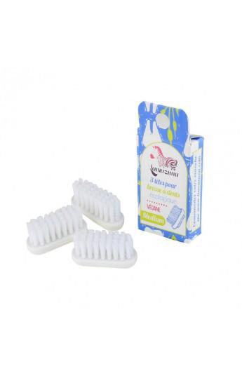 3 Testine medie ricaricabili per spazzolino da denti