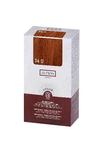 Tinta per capelli Color Lucens 7.4 Ramato