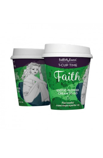 Faith Cream to go Crema corpo T-Cup Time