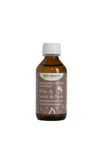 Olio di semi di lino biologico