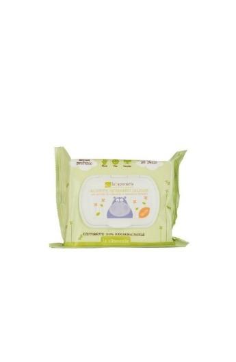 Salviette detergenti delicate